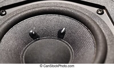 Woofer - Close up of a AudioWoofer