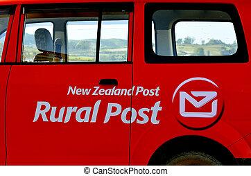 New Zealand Post - MANGONUIE, NZ - MAR 21 2014:New...