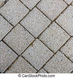 pavimentar, lajes, forma, quadrados