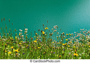 austria, carinthia, malta reservoir - the reservoir for...