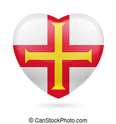 Heart icon of Guernsey