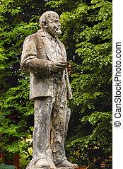 andrajoso, monumento, Lenin