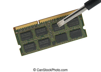 DDR Memory Chip Board with Screwdriver