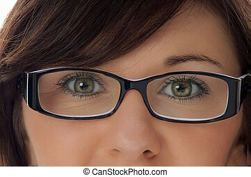 woman - Woman with glasses