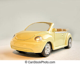 Toy car - A macro photo of toy car