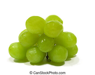 Green grapes - A photo of healthy green grapes