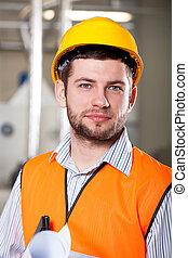 trabajador, fábrica