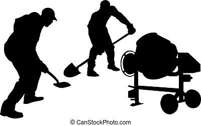 workers - illustration of workers