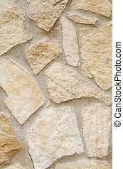 Stone wall texture background. Close-up.