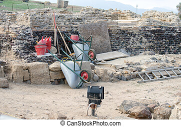 Archaeological Excavations at the site.
