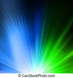 Abstract background in green blue tones EPS 10 vector file...