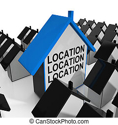 Location Location Location House Means Situated Perfectly -...