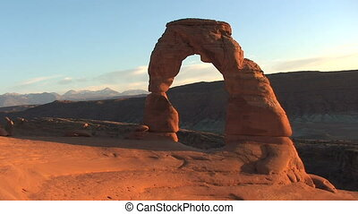 Arches National Park – Delicate Arch at Dusk – Time Lapse