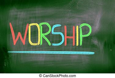 adoração, conceito