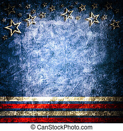 Old paper - Grunge USA style background
