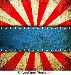 grunge background - Grunge USA style background
