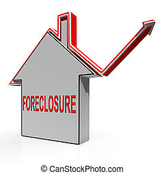 Foreclosure House Shows Lender Repossessing And Selling -...