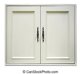 door of cupboard - beautiful white wooden door of modern...
