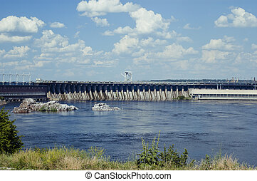 Dnieper Hydroelectric Station - The Dnieper Hydroelectric...