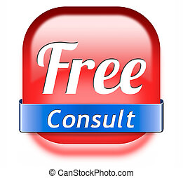free consultation gratis consult and customer support desk....
