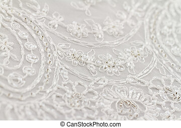 Special lace - Close up photot of beautiful Italian lace