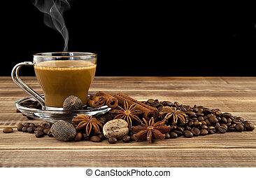 café, Condimentos, taza