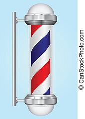 Sign barber