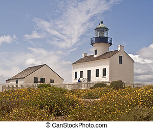 Lighthouse at Point Loma - This is the old lighthouse at...