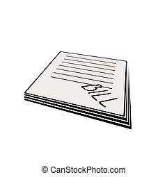 bill vector illustration