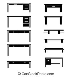 table black vector