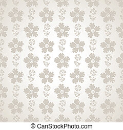 Fancy seamless flower wallpaper