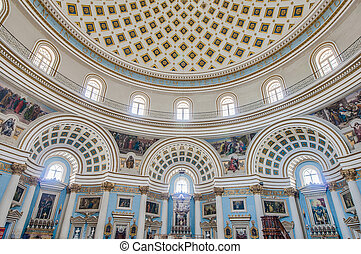 Church Rotunda of Mosta, Malta - Church of the Assumption of...