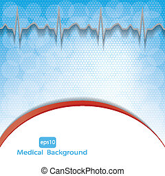 Medical background .vector