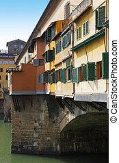 Ponte Vecchio bridge in Florence - Picturesque Ponte Vecchio...