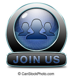 join us - Join us now and register today. Registration icon...