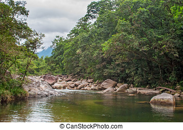 Mossman Gorge,Daintree National Park, Queensland, Australia