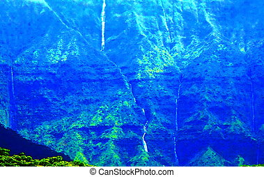 Princeville Kauai mountain - Princeville noted Kauai...