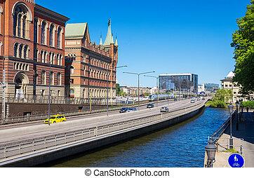Riddarholmen Stockholm, Sweden - View from Riddarholmen...