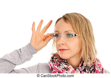 Glasses - Woman with glasses