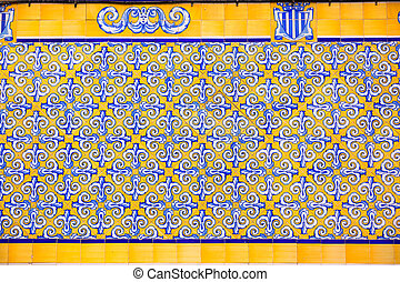 Valencia Mercado Central market tiles facade Spain -...