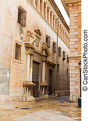 Valencia Patriarca museum in Calle Nave street Spain -...