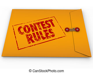 Contest Rules Classified Envelope Terms Conditions Entry...