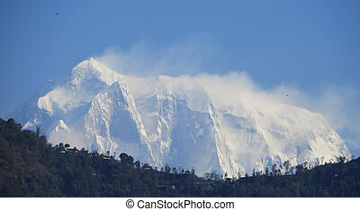 Annapurna Mountain - Annapurna mountain part of the Himalaya...