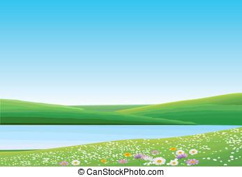 Green Landscape - Spring
