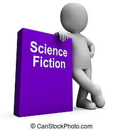 Science Fiction Book And Character Shows SciFi Books -...