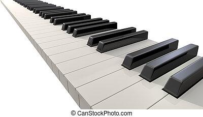 Piano Keys Front