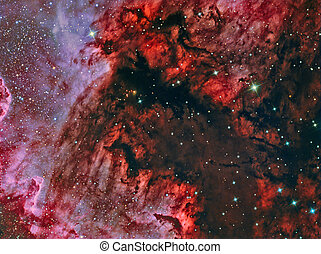 Gulf of Mexico in the North America Nebula NGC7000
