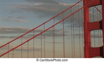 Golden Gate Bridge, View of San Francisco - Golden Gate...