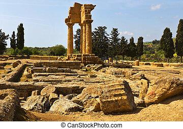 Valle dei Templi, Agrigento, Sicily - Agrigento, Sicily....