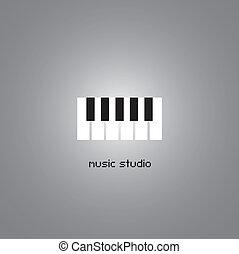 Music studio symbol